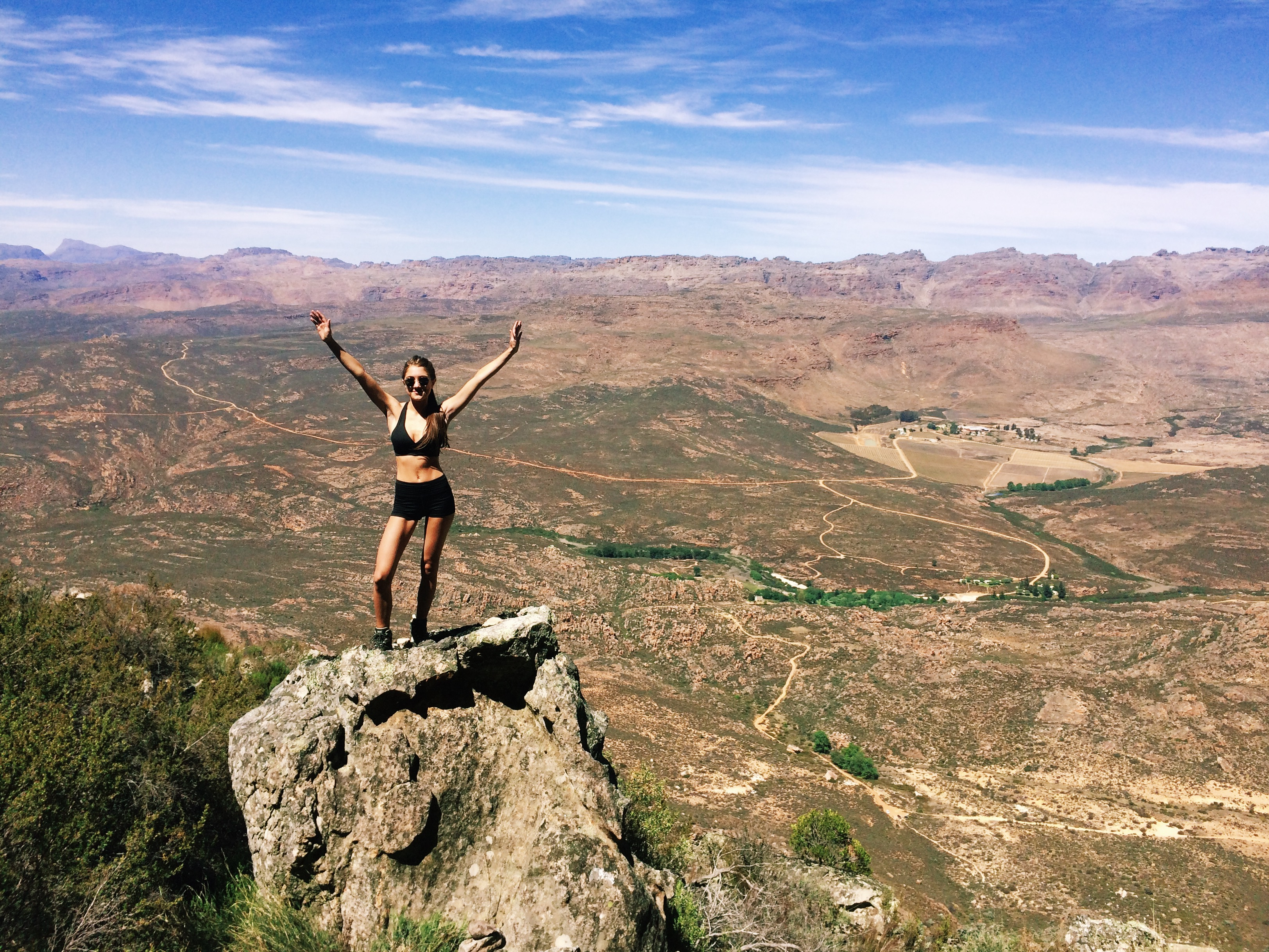 Embracing my inner leopard - Wolfberg Cracks, Cederberg