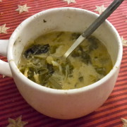 Curried Spinach and Fennel Coconut Milk Soup