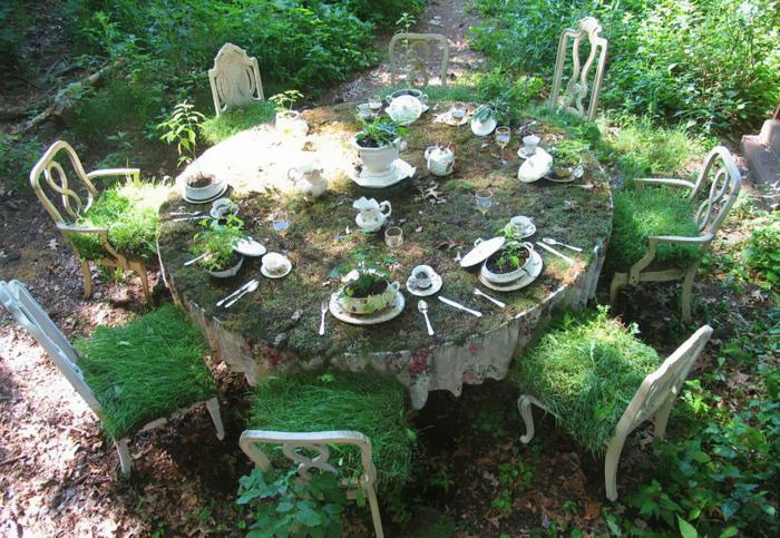 Dining Table Garden