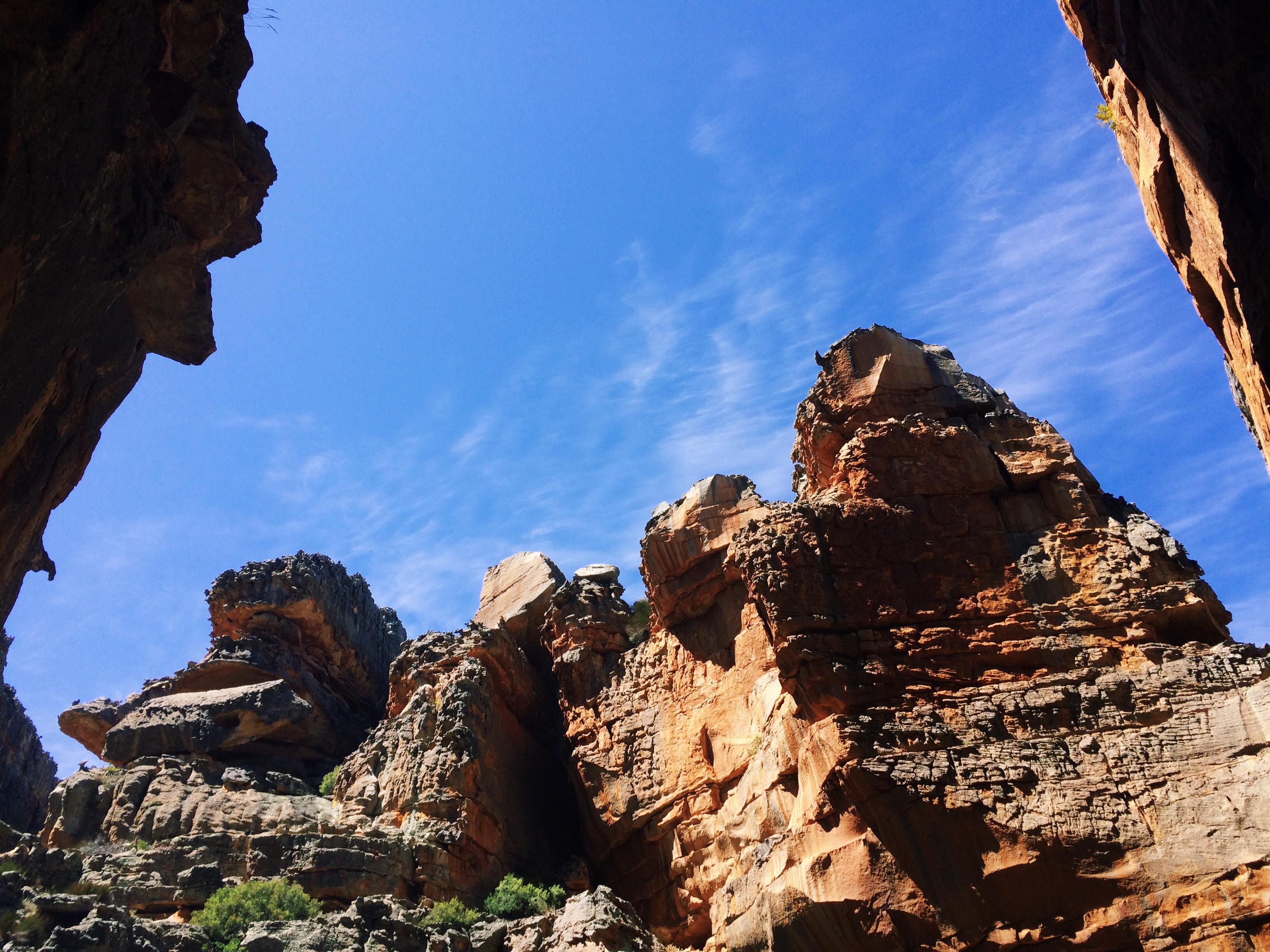 Sandstone formations - Wolfberg Cracks, Cederberg