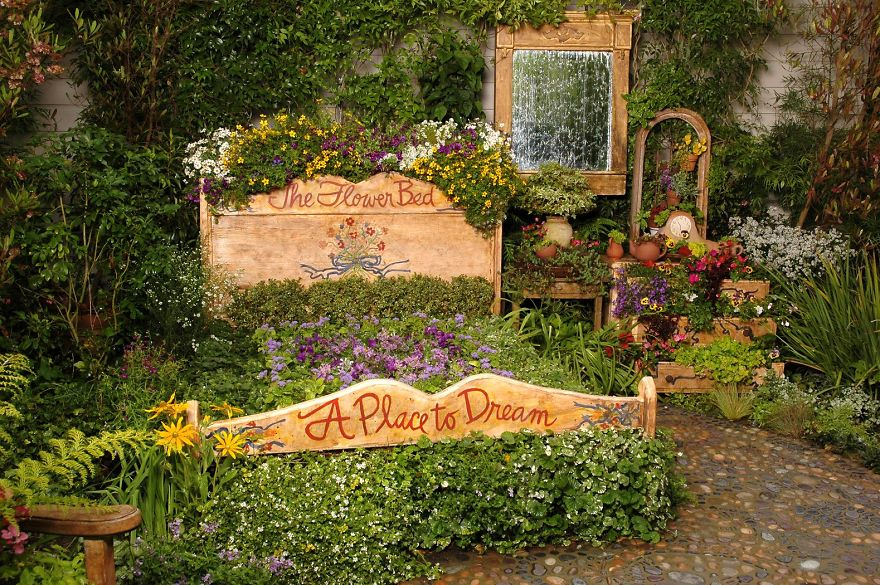 Magical Bed Garden