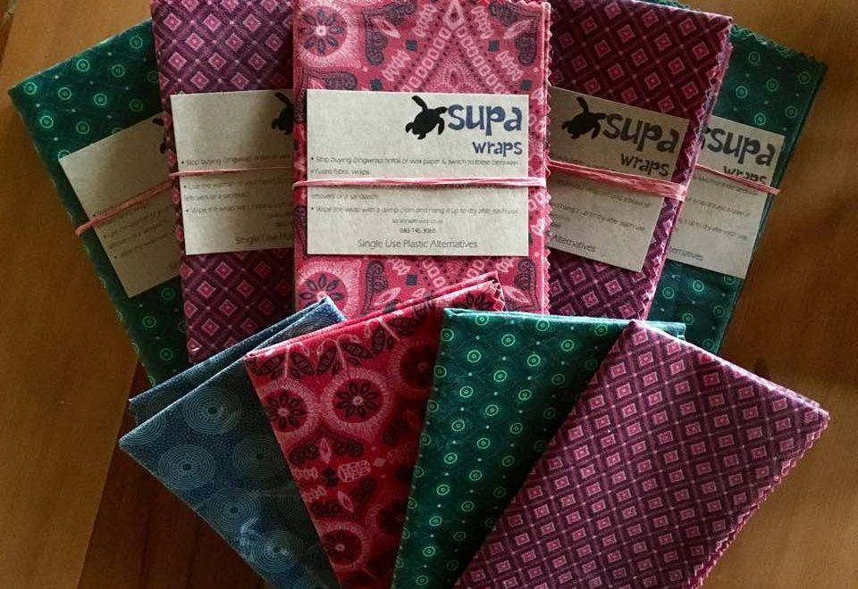 SUPA Wraps – Reusable Food Wraps